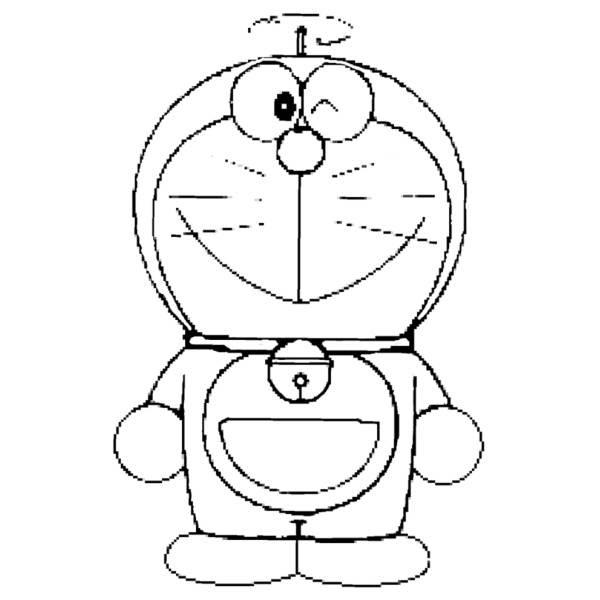 Più Adatto Per I Bambini Disegni Da Colorare Doraemon Disegni Da