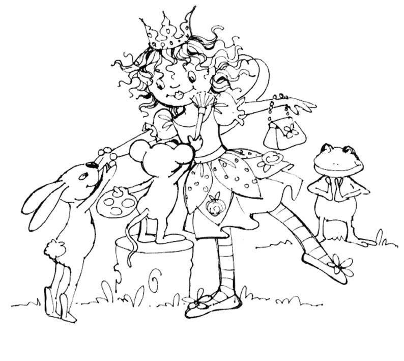 Lillifee Ausmalbilder Einhorn Coloring And Drawing