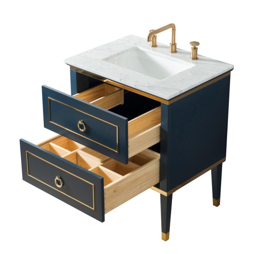 Bluestar Floor Mount 30 Single Sink Vanity Freestanding Bathroom Vanities Toronto Canada Virta