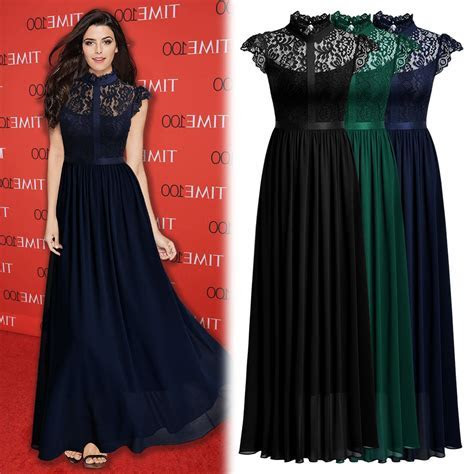 Great Women?s Elegant Floral Lace Formal Evening Party