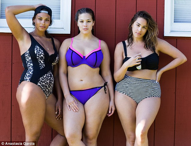 Image result for plus size models group