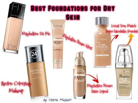 Best Drugstore Foundations for Dry skin  Tips to a