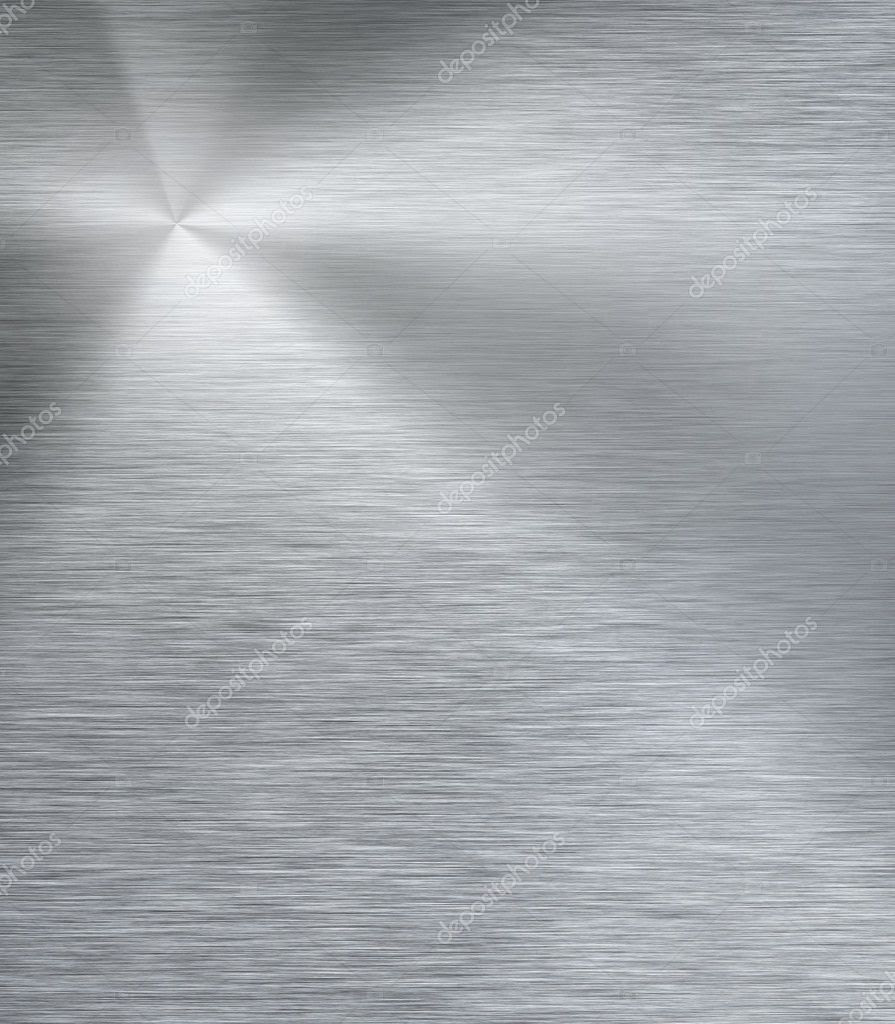 Shiny stainless steel metal background — Stock Image © Les Cunliffe #
