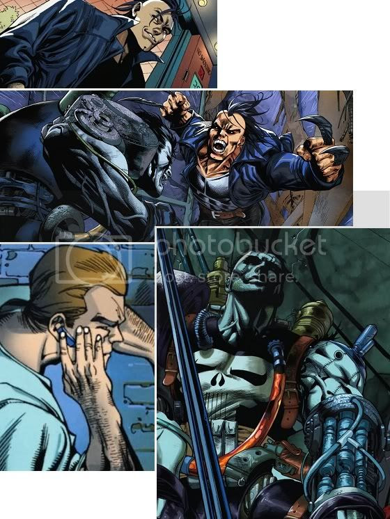 Wolverine Sombrio vs Franken-Castle