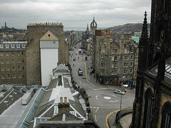 Royal Mile, Edinburgh, Scotland, United Kingdom