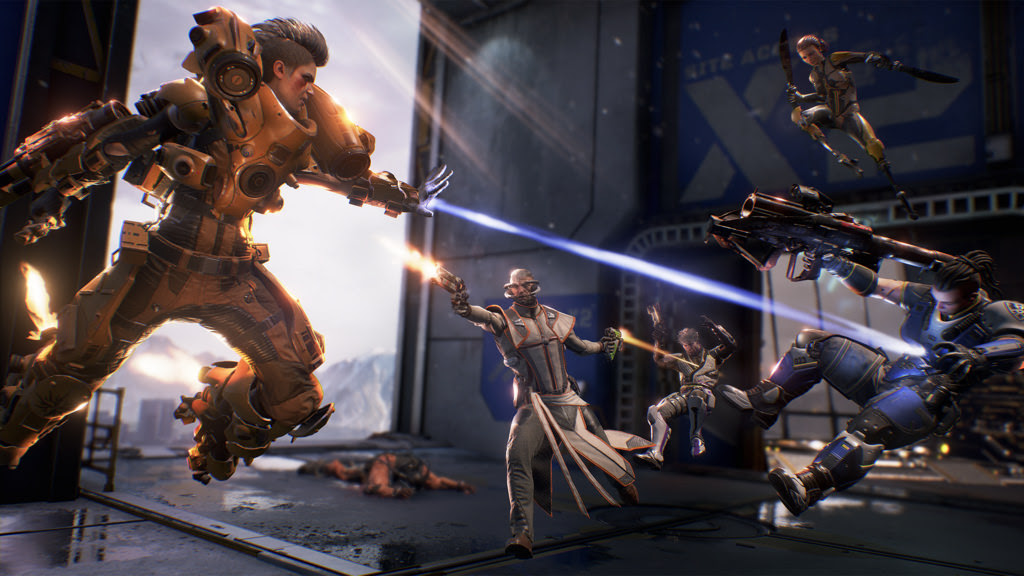 LawBreakers on PS4 gets an early patch for stuttering issues screenshot