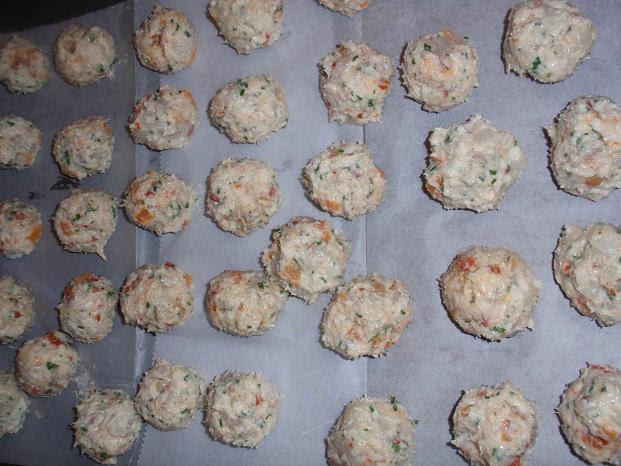 shrimp meatballs raw