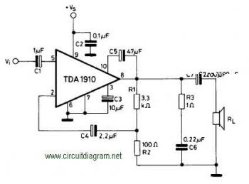2n3055ua723 Power Supply Adjustable 0 moreover BG0zODYgb3AgLWFtcA likewise Circuito lificador Lm383 moreover Randall Rh50 Tube Mod furthermore 10w  lifier Circuit Based Tda1910. on datasheet of lm386