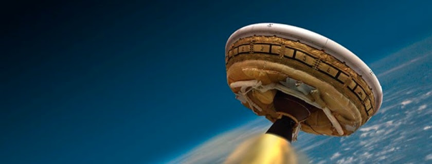 Watch Online: NASA Launches Its Flying Saucer for Test Flight