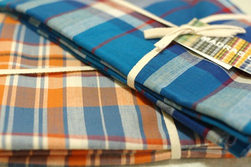 Check fabrics from YUZAWAYA