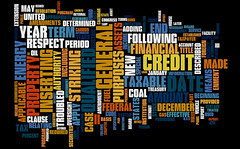 Bailout Law Word Cloud (HR 1424 EAS)