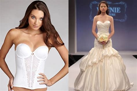 What to Wear Under Your Gown   Wedding Dresses   Wedding