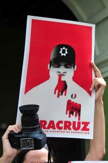 Exigen justicia para Rubén Espinosa en Xalapa Foto: Miguel Ángel Carmona