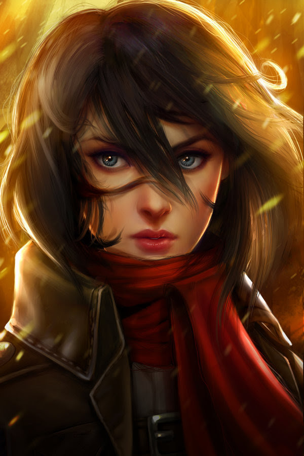 Attack on Titan: Mikasa Ackerman by Kathryn Steele