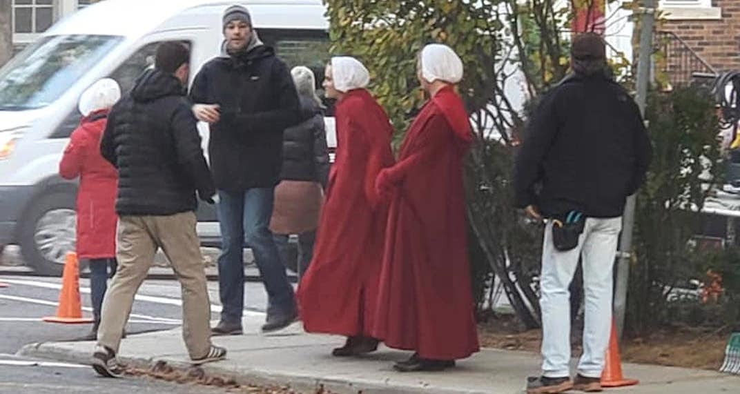 Image result for the handmaid's tale season 3 toronto filming