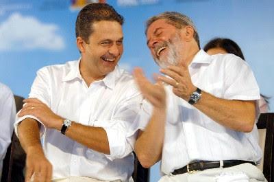 Eduardo campos e Lula