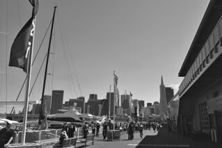 America's Cup Park - Toward the City