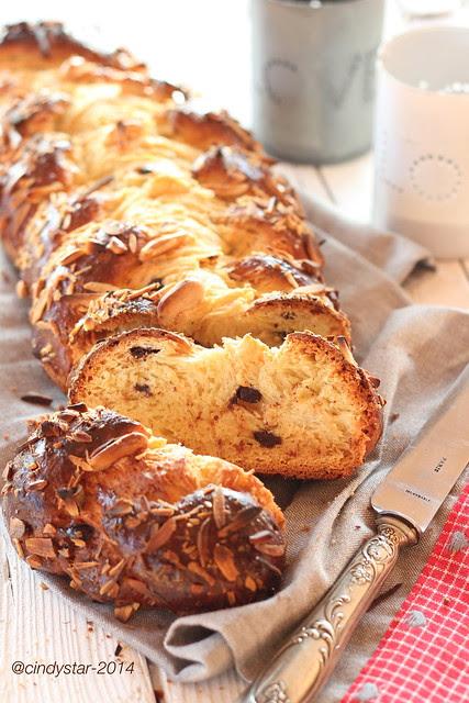 vánočka-treccia natalizia-xmas braided cake