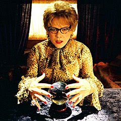 Marie-Aude et sa boule de cristal