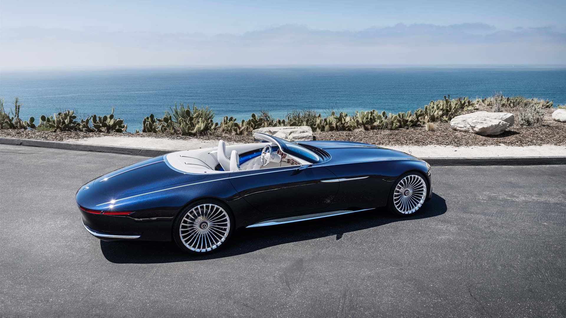 Vision Mercedes-Maybach 6 Cabriolet looks gorgeous at the ...