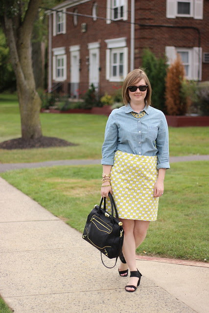 milly skirt chambray 3