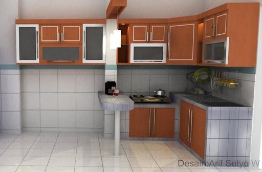 7 Desain Dapur Rumah Kampung Terbaik Saat Ini