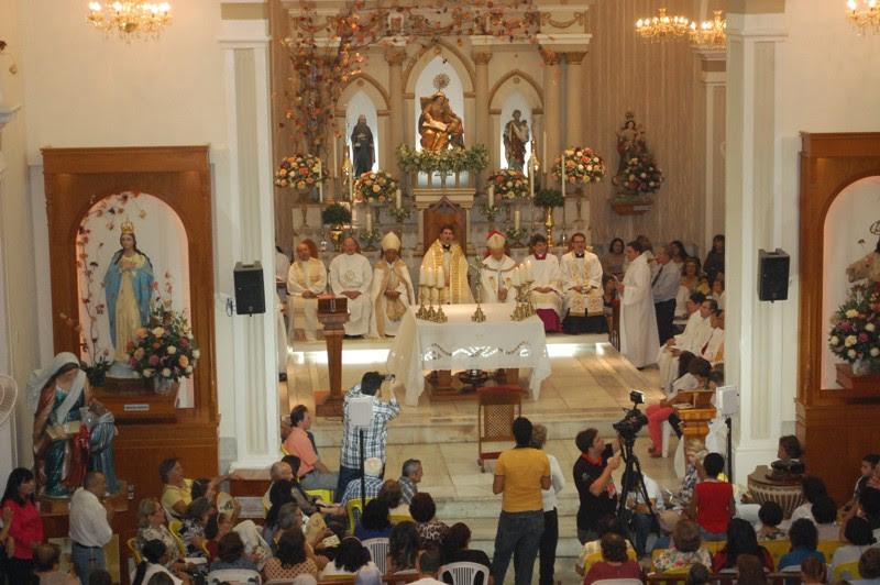 O Bispo de Caicó, Dom Antônio Carlos celebra a nona novena de Sant'Ana neste sábado