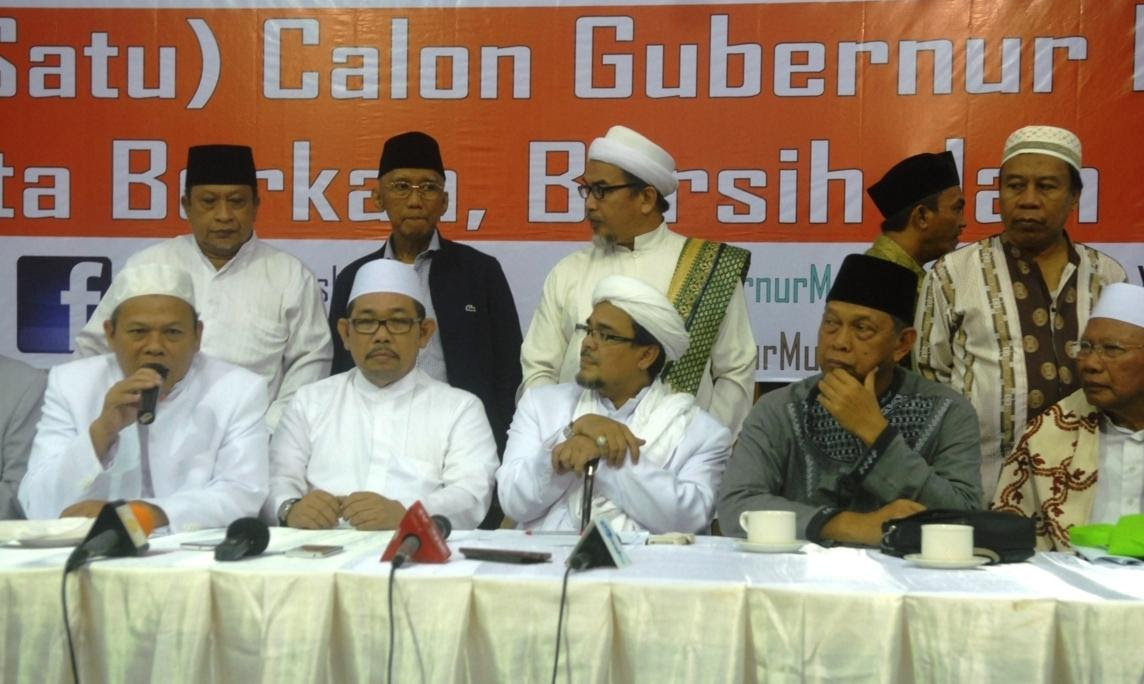 Polling: 85 Persen Warga Jakarta Sangat Tidak Setuju Cagub Non-muslim