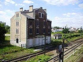 Ancien bâtiment voyageurs de la gare de Bobigny, en juillet 2012.