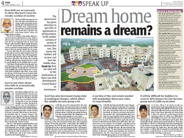 Dream Home Remains a Dream?