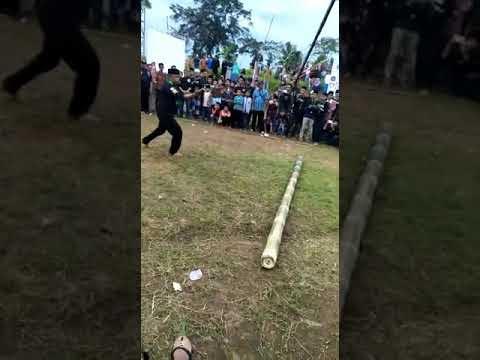 Lestarikan Seni Budaya Karuhun Oleh Paguron Jalak Banten Nusantara di Pesantren Benjot Cianjur
