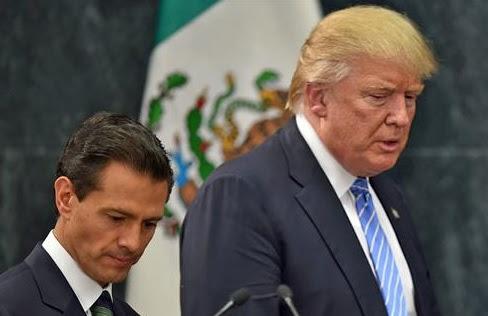 Peña Nieto y Trump acuerdan resolver sus diferencias sobre pago del muro