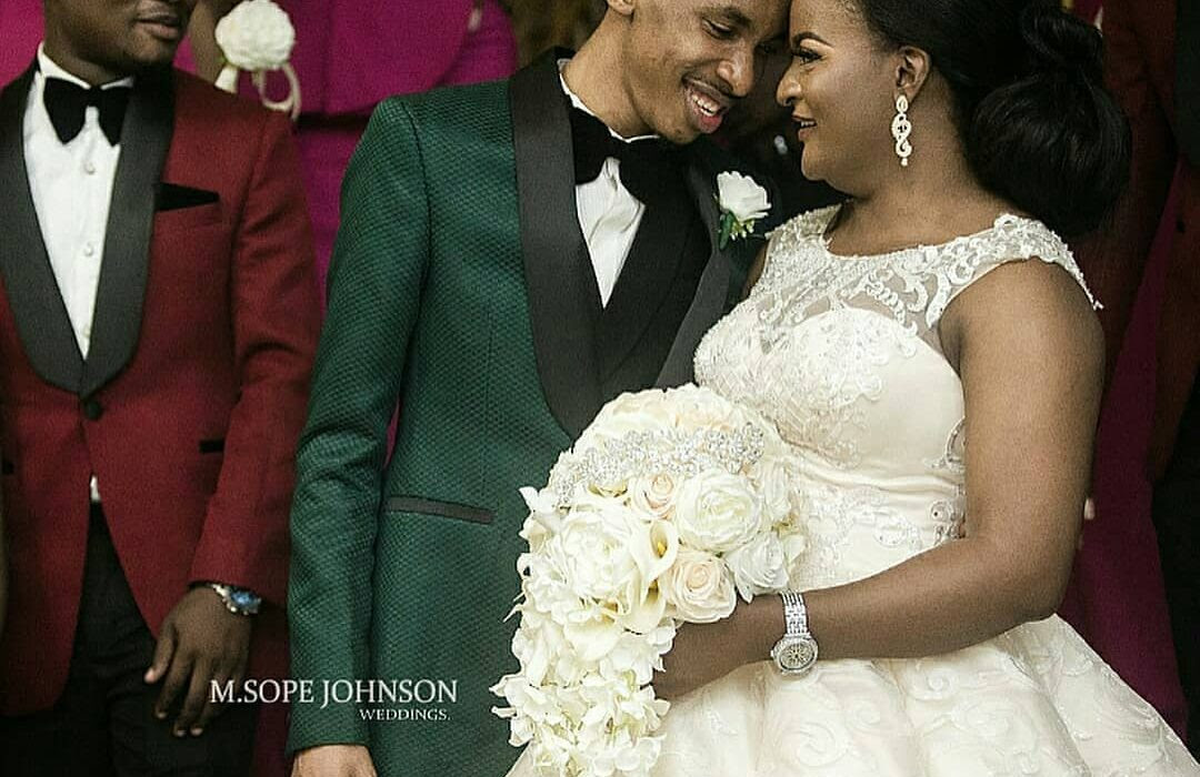 Photos from DJ Consequence's white wedding