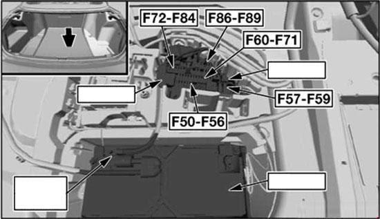 Bmw 6 Series E63 E64 2004 2010 Fuse Box Diagram Auto Genius