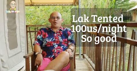Phòng ngủ tại Lak Tented Camp đẹp mê hồn và đắt đến mức nào ?