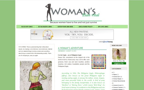 Woman's Elan Vital