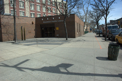 Library Plaza, Cortelyou Road and Argyle Road, Northeast corner