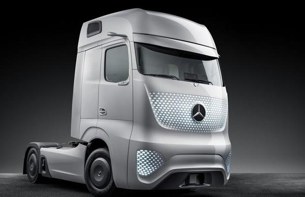 Mercedes Benz Revela Caminhão Do Futuro Auto Esporte Notícias