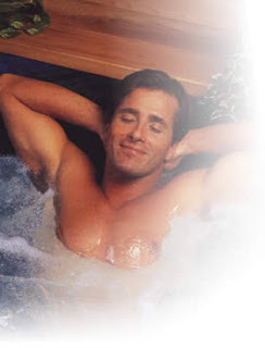 Bersantai dalam bath tub
