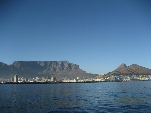 Table Mtn from bay