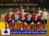 Maracanã, de Valinhos, vence mais uma partida pela Copa Metropolitana de futsal
