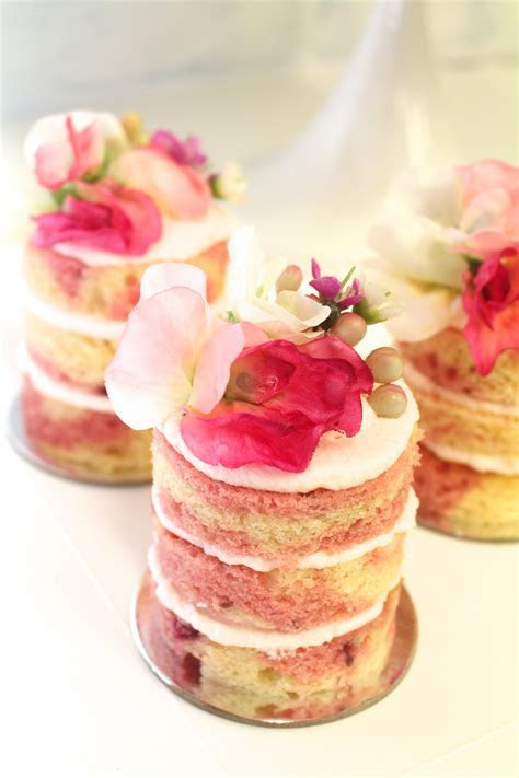 Mini Naked Cakes   Pretty Parties