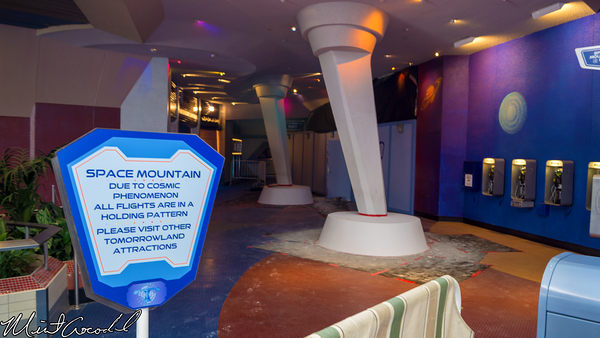 Disneyland Resort, Disneyland, Space Mountain, Refurbishment, Refurb