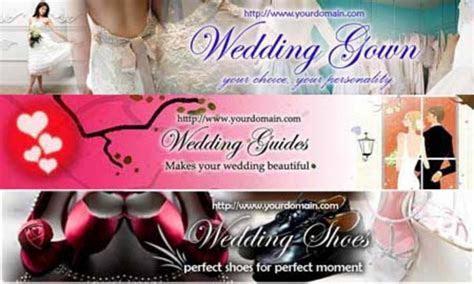 Wedding Website Banner (3in1,3PSD 3JPG,750x150,Hi res