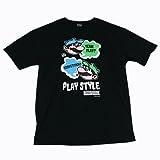 マリオブラザーズ PLAY STYLE3 Tシャツ Black-L