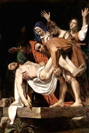 Caravaggio - Deposição de Cristo