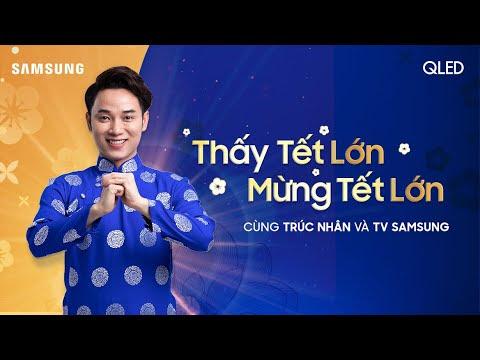 [MV Nhạc Tết 2020] Samsung TV | Trúc Nhân - THẤY TẾT LỚN, MỪNG TẾT LỚN (Karaoke)