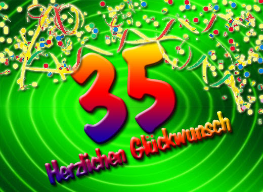 35 Geburtstag Glückwünsche Und Sprüche