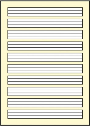 3. klasse lineatur ausdrucken