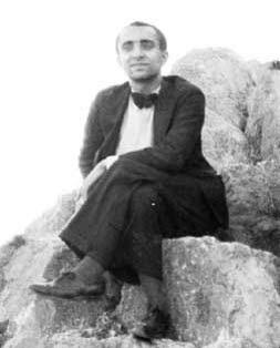Fotografía en blanco y negro de Ramón Sijé